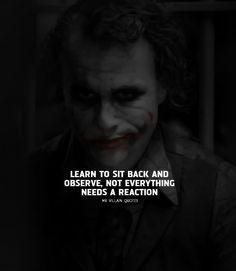 Image may contain: 1 person, text Badass Quotes, Real Life Quotes, True Quotes, Swag Quotes, Heath Ledger Joker Quotes, Joker Heath, Joker Batman, Gotham Batman, Batman Art