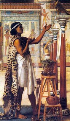ADORATION TO RA............PAINTING BY SIR EDWARD JOHN POYNTER........PARTAGE OF EGYPT - OLD CAIRO PAINTINGS........ON FACEBOOK..............