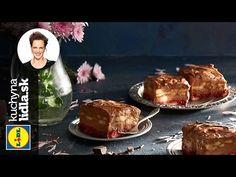 (14) Nepečené čokoládovo-banánové kocky   Adriana Poláková   Kuchyna Lidla - YouTube Lidl, Muffin, Beef, Breakfast, Recipes, Food, Youtube, Meat, Morning Coffee