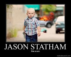 Jason Statham... demotivational-posters