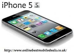 Apple iPhone 5S Contract deals offer you the best and a very systematic payment option as well.