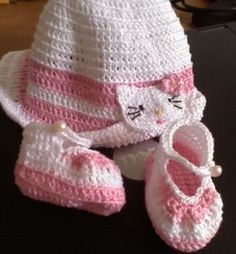 Hood Trico 1 How to crochet baby hat Step by Step
