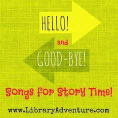 Opening and Closing or Hello and Goodbye songs are staples of Story Time! In addition to being fun they provide structure for your group. I usually keep my beginning and ending songs the same every…