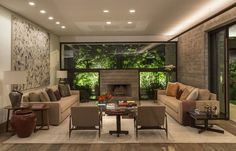 "5,119 Likes, 7 Comments - Interior Design (@design_interior_homes) on Instagram: ""Residência MO by Reinach Mendonça Arquitetos Associados --- #luxury #luxuryhome #architect…"""