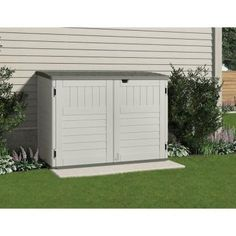 possible outdoor storage solution.