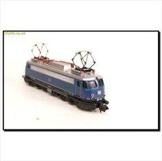 TRIX MINITRIX - GERMAN DB CLASS BR 110 E-LOK ELECTRIC LOCO No.110 338-1 on eBid United Kingdom