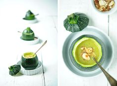 Zucchinisuppe (vegan)