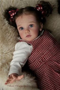 reborned by Anna Arutyunyan Live Baby Dolls, Real Baby Dolls, Realistic Baby Dolls, Baby Girl Dolls, Child Doll, Reborn Baby Dolls, Bebe Rexha, Cute Little Baby, Cute Babies