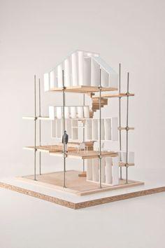 27 / Eagles of Architecture Concept Models Architecture, Architecture Board, Architecture Portfolio, School Architecture, Architecture Details, Drawing Architecture, Hierarchy Design, Tectonic Architecture, Public Library Design