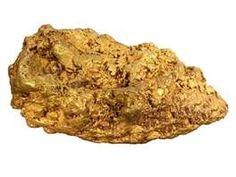 raw gold