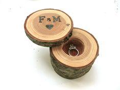 Custom Ring Box Wedding Ring Box Proposal by EndGrainWoodShoppe, $30.00