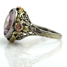 ArtDecoDiamonds.com, #1 in antique engagement rings, diamond rings, antique jewelry, estate jewelry, vintage jewelry #VintageJewelry