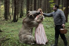 This is amazing  Moscow-based Russian photographer Katerina Plotnikova has taken a series of incredible photos with the help of real animals. There is no Photoshop involved - just a group of elite animal trainers and a surreal, mystical quality that Plotnikova brings out in her work.
