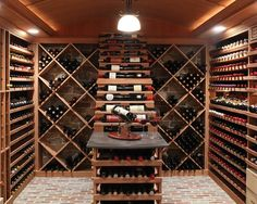 My dream home will have its own wine cellar.