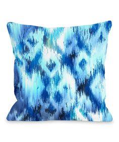 Look at this #zulilyfind! Atlantis Throw Pillow #zulilyfinds