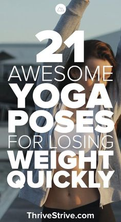 Doing yoga to lose weight is a great way to gain balance back in your life. Here are 21 yoga asanas for beginners and advanced people that will help you burn fat, lose weight, build strength, and increase flexibility. @PTrainerFood