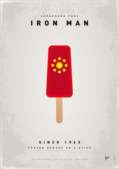Iron Man Popsicle /// by Agy
