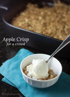 Apple Crisp for a Cr