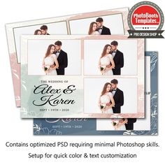 A simply beautiful backdrop for a wedding or anniversary. comprised of watercolor and textured paper with ornate floral elements. All elements are easily colorized to fit your event. Watercolor Postcard, Floral Watercolor, Photobooth Template, All Fonts, Photoshop Elements, Text Color, Simply Beautiful, Photo Booth, Paper Texture