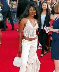 Sinitta got bashed for wearing a #crochet halter but I think it's cute. You?