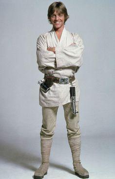 Luke Skywalker (Mark Hamill) es el protagonista de las primeras tres películas de La Guerra de las Galaxias (Star Wars). Description from thinglink.com. I searched for this on bing.com/images