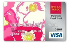 Lilly credit card!