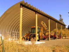 https://flic.kr/p/7oyCeu | SteelMaster Agricultural Equipment Storage | Metal Agricultural Equipment Storage T-Model 25-16x80
