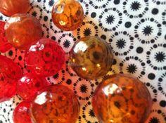 Vintage Plastic Bubble Beads by ButtonandBead on Etsy, $4.00
