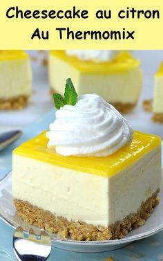 Cheesecake Thermomix, No Bake Lemon Cheesecake, Mini Cheesecake Recipes, Homemade Cheesecake, Cheesecake Bites, Classic Cheesecake, Turtle Cheesecake, Strawberry Cheesecake, Chocolate Cheesecake