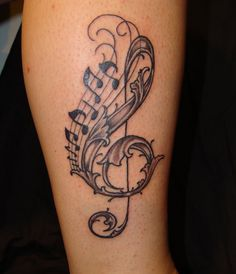 Here are the 9 best musical tattoo designs for men and women that you can choose from.