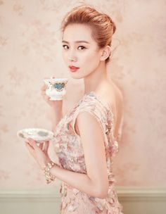 Liu Shi Shi's Ballerina Beauty on Display in Feminine New Fashion Pictorial | A Koala's Playground