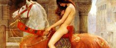 The Pre-Raphaelite artist John Collier painted a picture of Lady Godiva c. Painting of Lady Godiva by John Collier Lady Godiva, John William Waterhouse, John William Godward, Moritz Von Schwind, Pre Raphaelite Brotherhood, Anglo Saxon, Oeuvre D'art, Les Oeuvres, Painting & Drawing