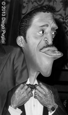 Caricatura de Sammy Davis, Jr. https://soundcloud.com/tyster66/12-7-13-the-majority-of-black