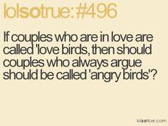 angry love birds :)