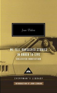 Oh, Didion.  Perhaps the master of evoking emotion without surrendering to emotionality.