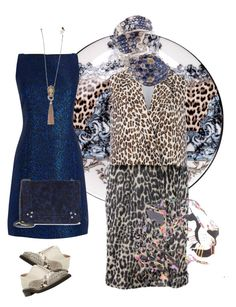 """""""Wilder"""" by palmgrass99 ❤ liked on Polyvore featuring Roberto Cavalli, STELLA McCARTNEY, Dune Black, Pasquale Bruni, Warehouse and Jérôme Dreyfuss"""