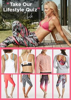 FABLETICS BY KATE HUDSON GET FIT FOR SUMMER EXCLUSIVE VIP OFFER - GET YOUR FIRST OUTFIT FOR $25 ! Limited Time Only, Offer ends 4/30/2016. As a VIP, you'll enjoy a new boutique of personalized styles each month, as well as exclusive pricing, early access to sales & free shipping on orders over $49. Don't think you'll need something new every month? No problem – click 'Skip The Month' in your account by the 5th and you won't be charged. Discover Workout Outfits for 2016 that is Curated for Yo...