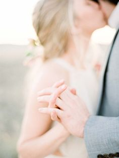Romantic Desert Elopement by Jacquelyn Hayward Photography | Wedding Sparrow