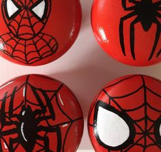 Marvel Spider-man Superhero inspired hand by PigsMightFlyDesigns