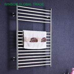 259.00$  Watch here - http://ali2ir.shopchina.info/1/go.php?t=32662887239 - ICD50018 304 Stainless Steel Heated Towel Rail, Banheiro Bathroom Porta Toalla Towel Heater Electric Towel Holder 259.00$ #aliexpresschina