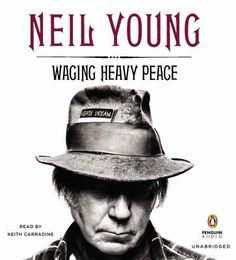 Waging Heavy Peace by Neil Young. An iconic figure in the history of rock and pop culture (inducted not once but twice into the Rock and Roll Hall of Fame), Neil Young has written his eagerly awaited memoir. Neil Young, Young Young, Dead Can Dance, Rock And Roll, The Rock, Eddie Vedder, Keith Richards, Crazy Horse, Gift For Music Lover
