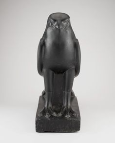 Egyptian    Statue of Horus as a Falcon, Ptolemaic period (late 4th century-3rd century B.C.)