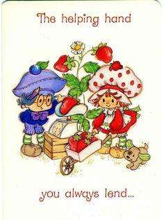 Plum helps Strawberry