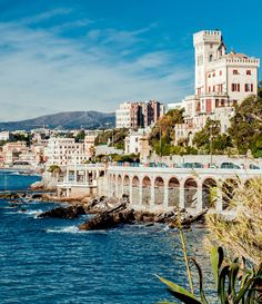 View of Genoa, port city in northern Italy   45 Reasons why Italy is One of the most Visited Countries in the World