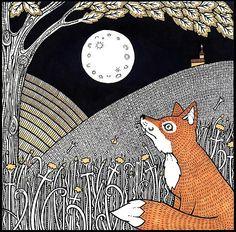 Beautiful foxy art