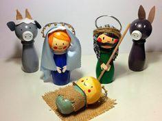17 Best images about Manualidades para Navidad on . Nativity Stable, Diy Nativity, Christmas Nativity Scene, Diy Christmas Gifts, Handmade Christmas, Christmas Holidays, Christmas Decorations, Christmas Ornaments, Kids Crafts
