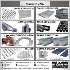 Linha Diaço para Mineração #diaco #serra #es