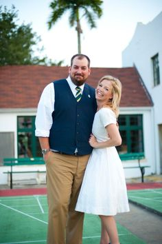 Vintage Shuffleboard Wedding on Style Me Pretty- FL -Photography By / http://jessicacharlesphotography.com