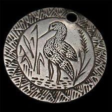 Love Token Coin Engraved Bird British Coin Approx Half Dime Size