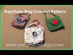 Posh Pooch Designs Dog Clothes: Key Chain Bag Crochet Pattern
